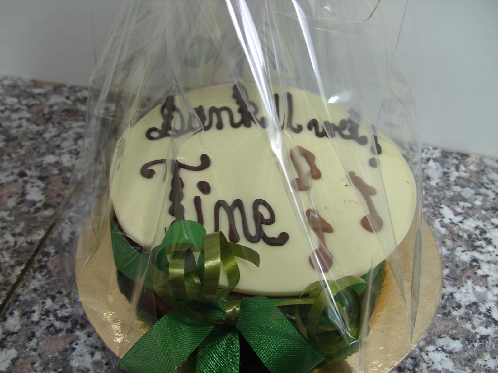 Chocoladestuk verjaardag - De Muyt