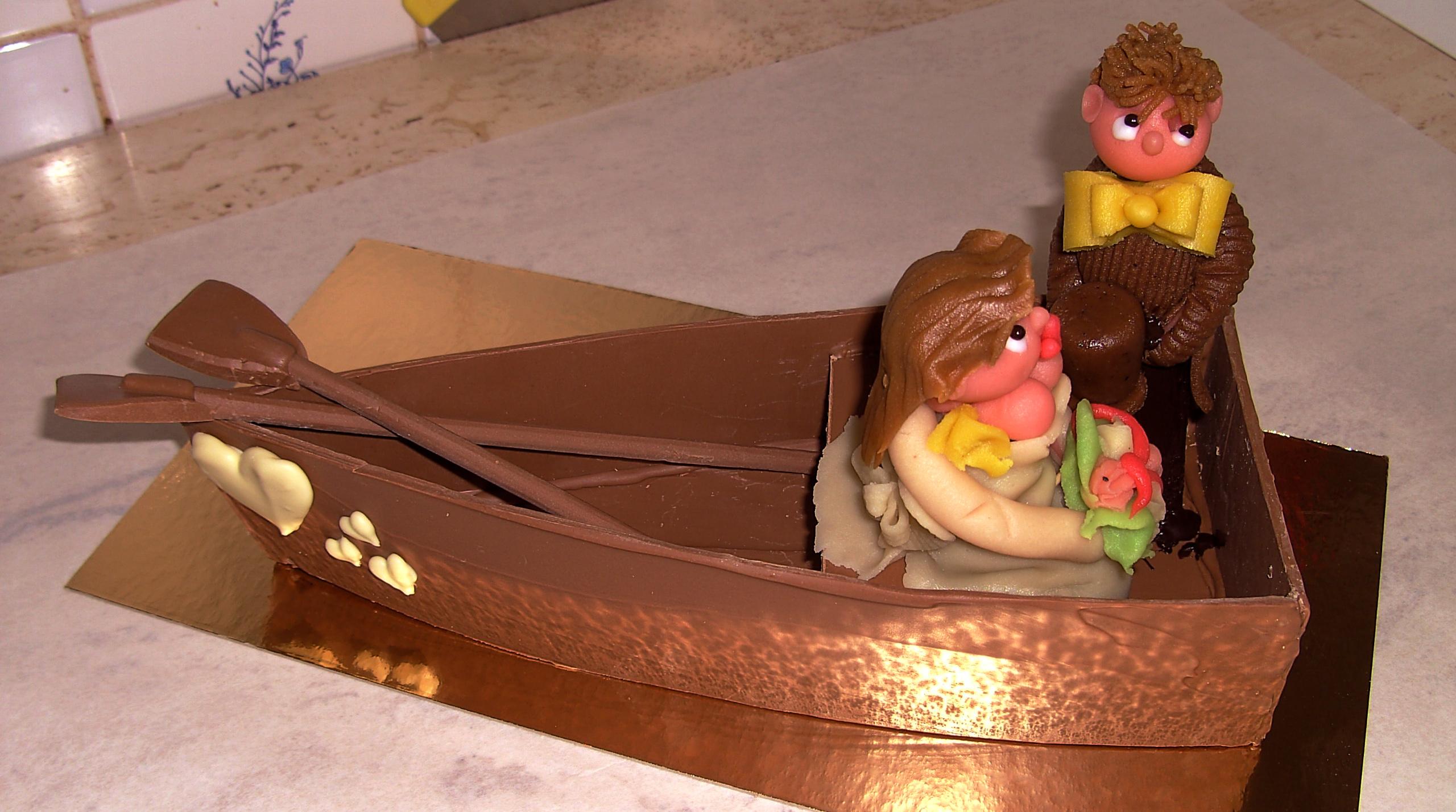 Chocoladestuk huwelijk - De Muyt