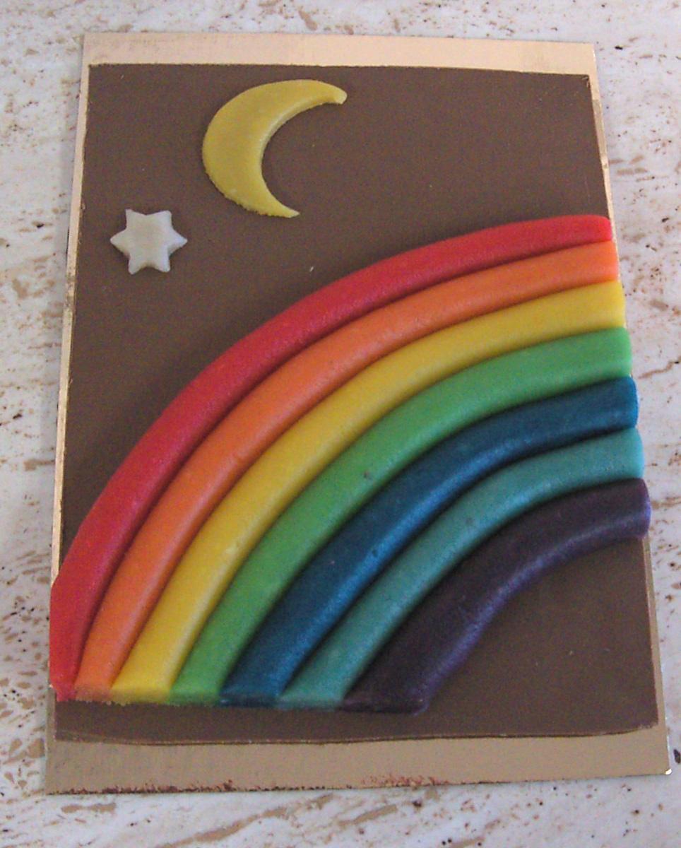 Chocoladestuk regenboog - De Muyt