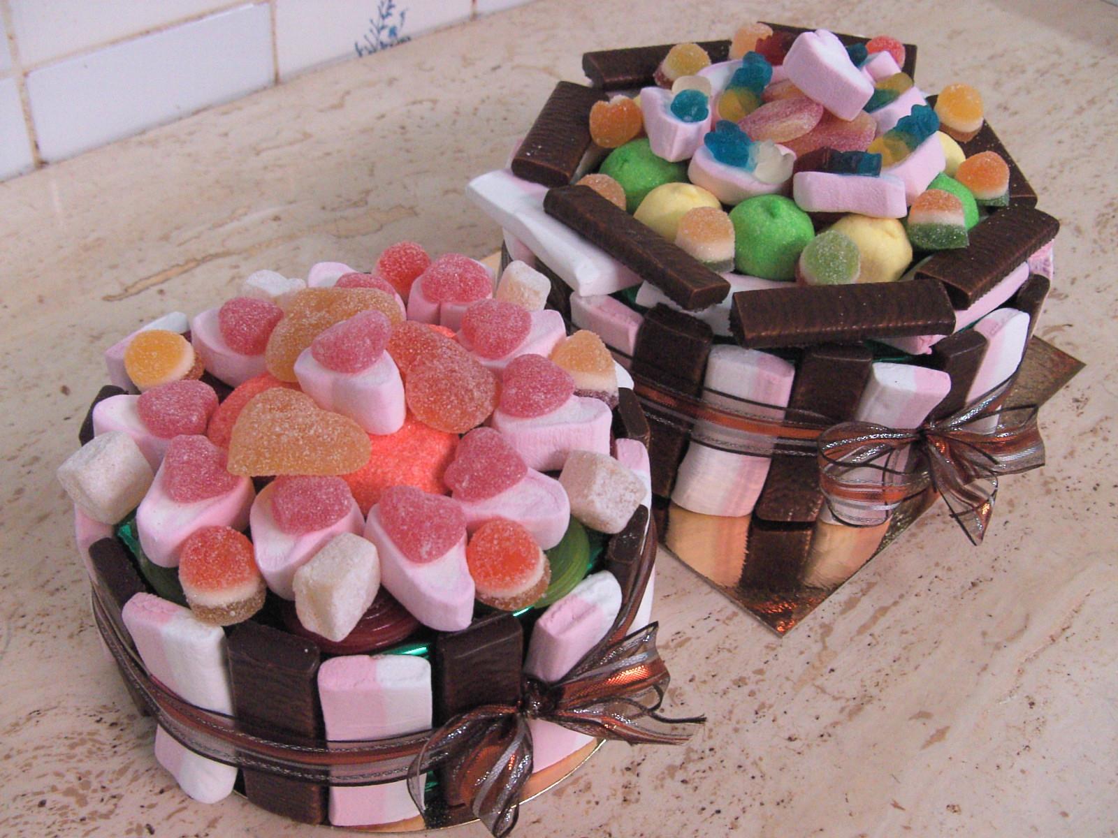 Snoeptaart valentijn - De Muyt