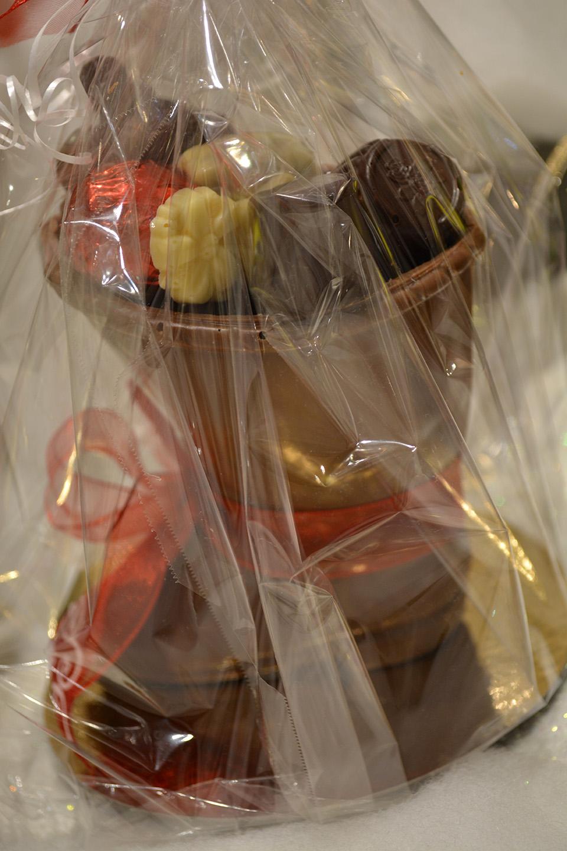 Laars kerstman gevuld met pralines - De Muyt