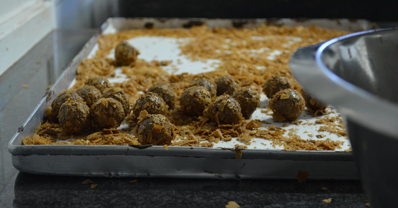 Truffelkogels maken - De Muyt