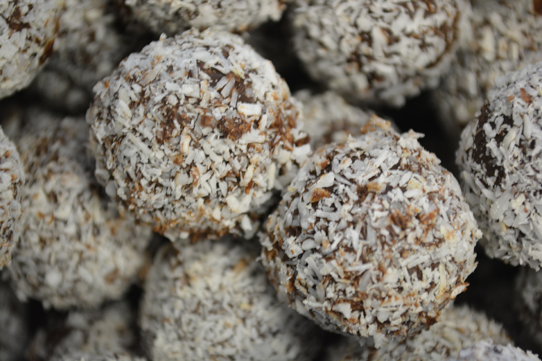 Truffelkogels kokos - De Muyt