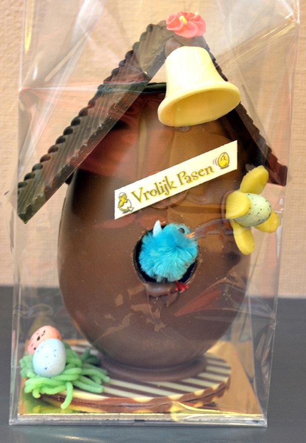 Vogelhuisje chocolade - De Muyt