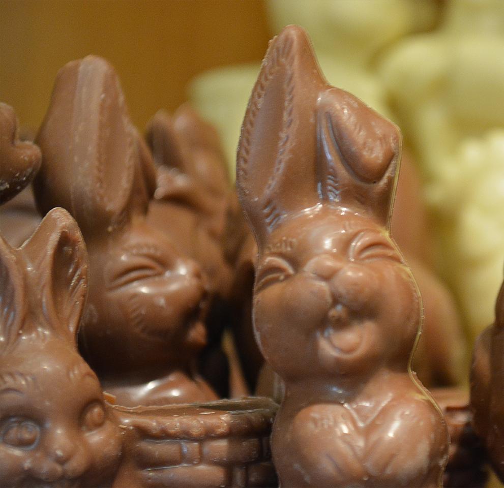 Chocolade figuren Pasen - De Muyt