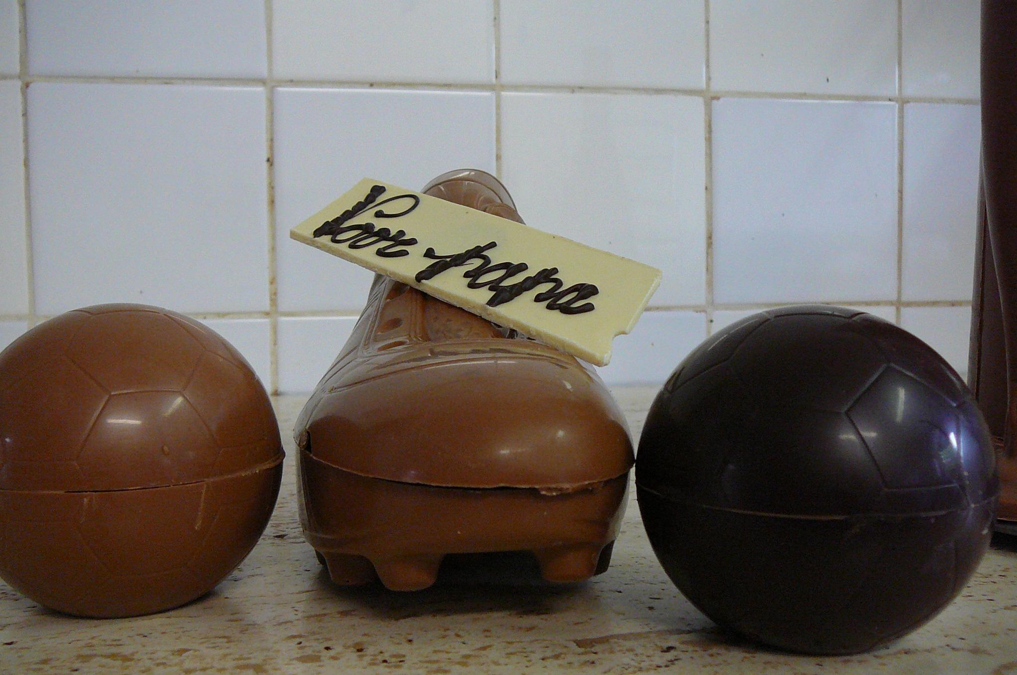 Chocolade voetbal vaderdag - De Muyt