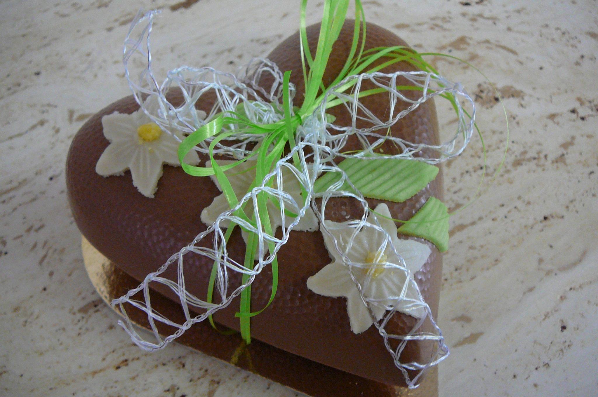 Hart Chocolade moederdag - De Muyt