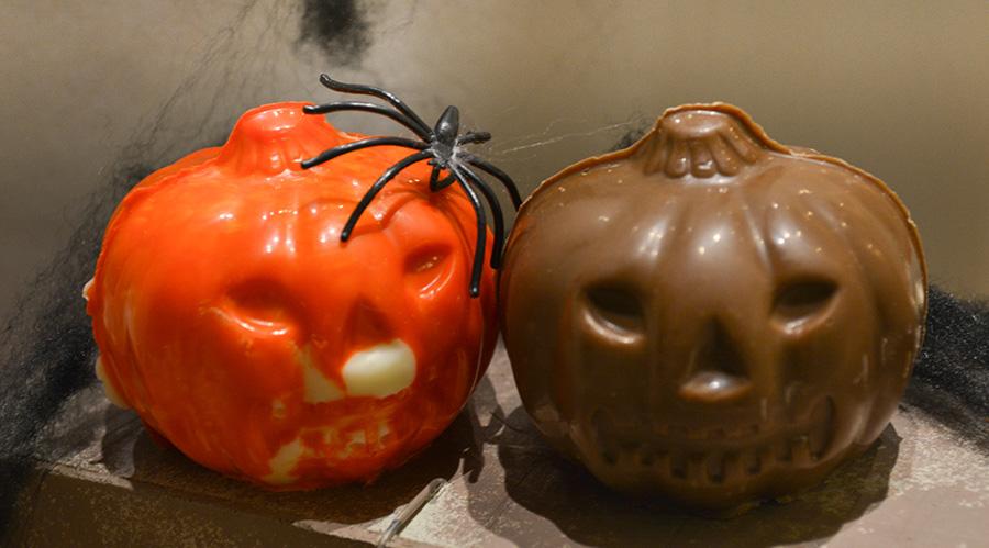 Halloween pompoentjes - De Muyt